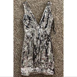 Bebe Sofia sequin dress